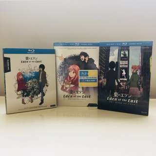 Eden Of The East Anime Complete TV & Movie on Bluray