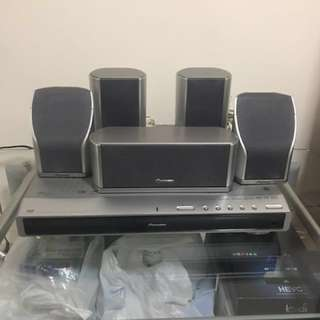 Pioneer DVD Home theater
