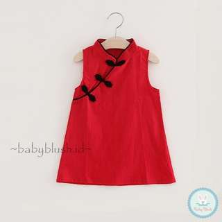 Xixi Qipao Dress/ dress anak