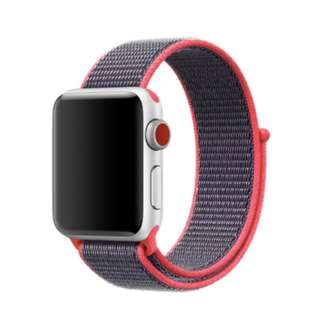 Nylon strap for apple watch band 38mm 42mm