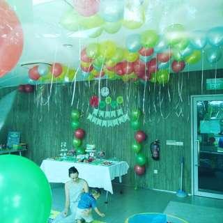 Happy birthday bash birthday balloons helium balloons