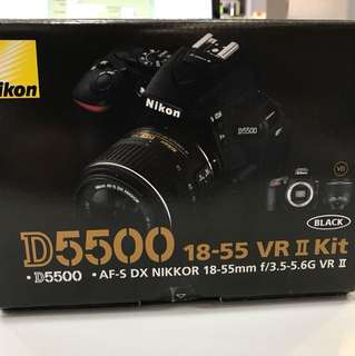 Nikon D5500 kit (18-55mm AFP) SC:1200
