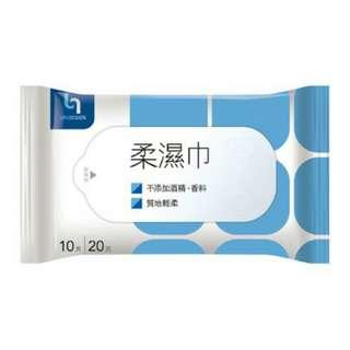 柔濕巾10抽(換)