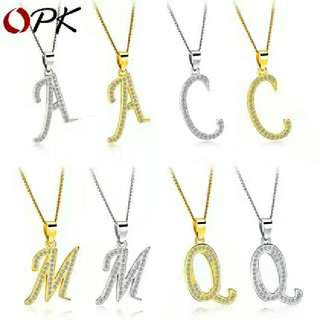 Alphabet Necklace《A-Z》字母项链