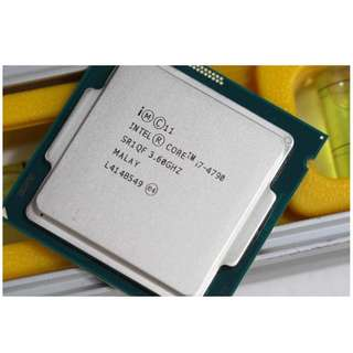 WTB Intel I7 4790/ 4790K
