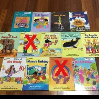 Reading Bee Children Books (2pcs of each tittles)