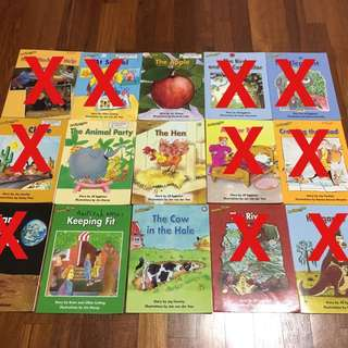 Reading Bee Children Books (1pc of each tittle)