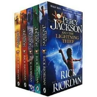 Percy Jackson Series (FREE PDF)