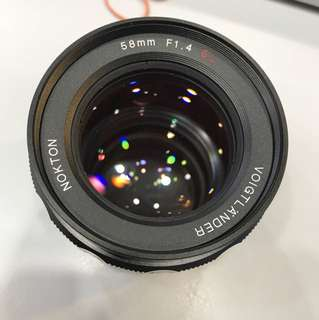 Voigtlander 58mm F1.4 SL for Nikon