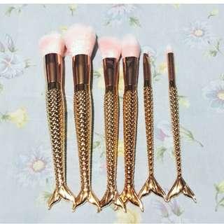 Mermaid Makeup Brush Set 🧜♀️
