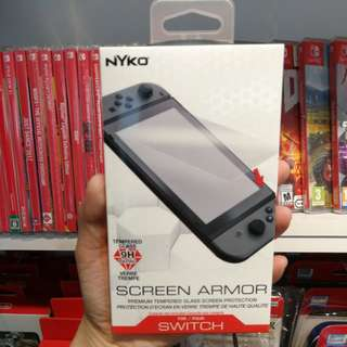 (Brand New) Nyko Screen Armor Tempered Glass 9H for Nintendo Switch
