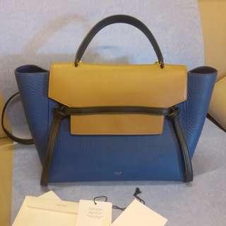 CELINE belt bag 100%真品 90%新 併色