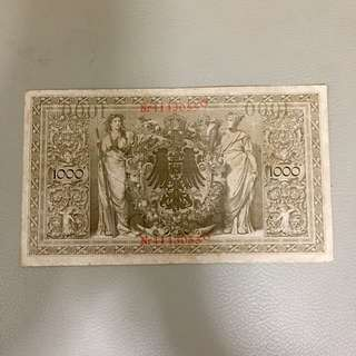 Germany Currency..Year 1910