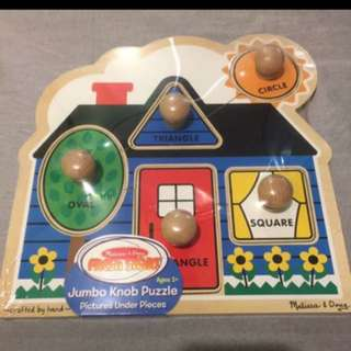 Brand new! Giant knob wooden puzzle!