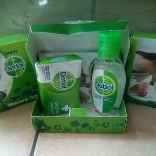 Dettol New Baby Sabun dan hand sanitizer