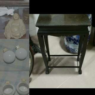 Old small table