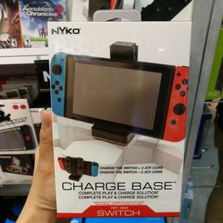 (Brand New) Nyko Charge Base for Nintendo Switch
