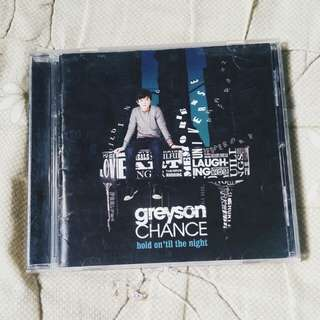 GREYSON CHANCE HOLD ON TIL THE NIGHT ALBUM