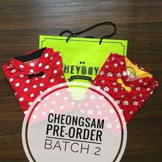 Pre-Order Cheongsam • BATCH 2