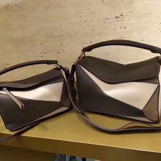 🎁🔥Loewe 2018 細 Puzzle Bag 拼色