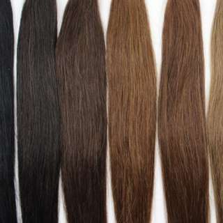 Human hair extensions different types