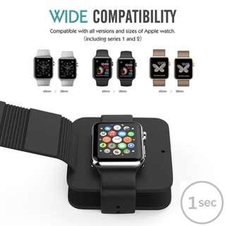 Apple watch PU手錶充電收納盒😊