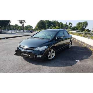 Budget Grab & Uber Honda Civic 1.8 A $57/day