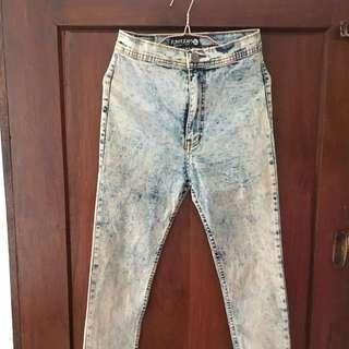 Punny jeans XL high waist