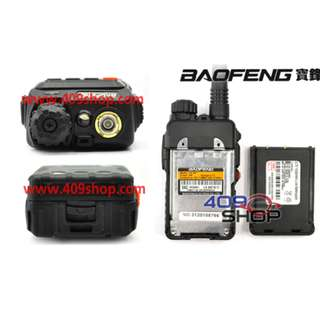 BAOFENG UV-3R+Plus136-174/400-470Mhz + earpiece