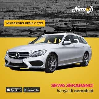 Promo Sewa Mercy C200 AMG 2017 Untuk Wedding Hanya di Nemob.id