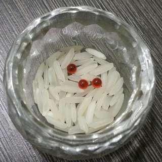 罕见蜈蚣珠。Rare Centipede pearl for wealth fetching.