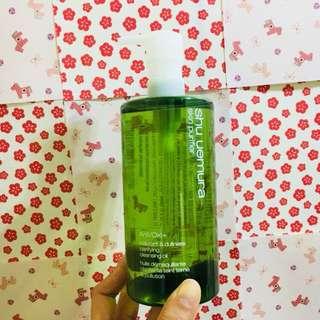 植村秀-植物精萃潔顏油(升級版)450ml