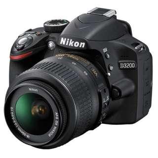 D3200 Nikon DSLR