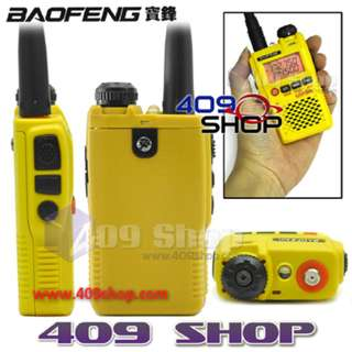 BAOFENG UV-3R Mark II Yellow Dual Band