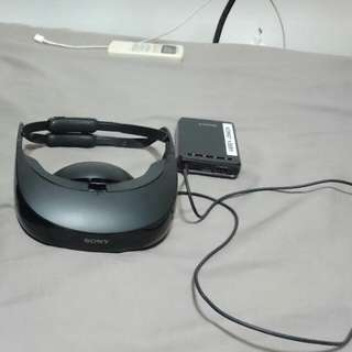 Sony personal 3D viewer HMZ-T3.