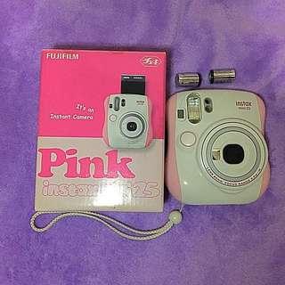 Instax Mini 25 pink