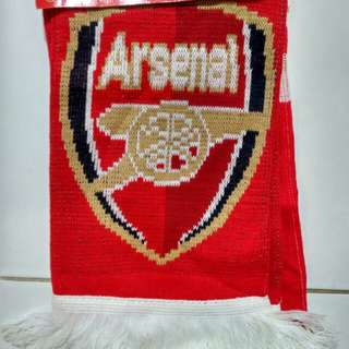 Arsenal offical fan scarf