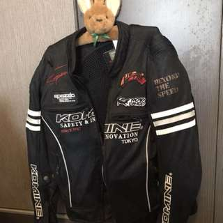 Komine mesh riding jacket