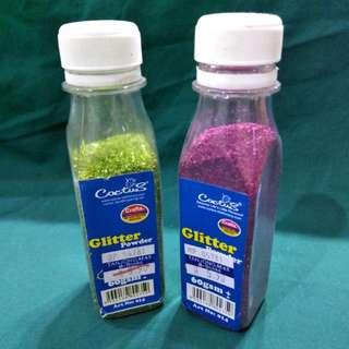 Loose Glitter [Green/Pink]
