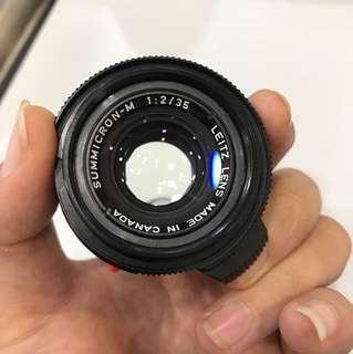 Leica 35mm F2 Summicron-M Type IV *Bokeh King*