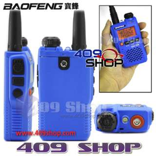 Walkie talkie BAOFENG 對講機 UV-3R Mark II Blue Dual Band+Earpiece