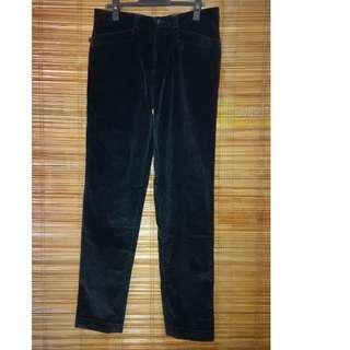 Branded Corduroy Pants
