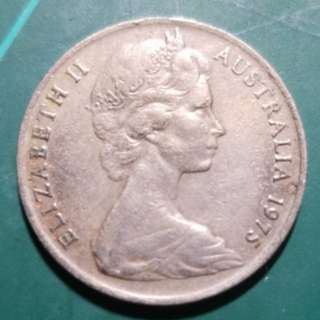 1975 AU 10Cents (Error Coin)