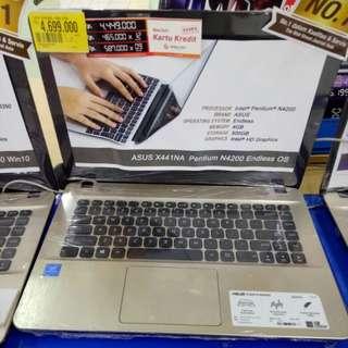 Laptop ASUS Gratis 1 kali cicilan proses cepat tanpa ribet