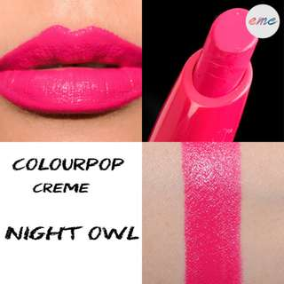 BN Colourpop Lippiestix Night Owl - Creme