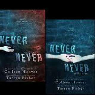 Never Never Series