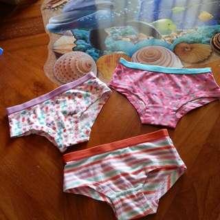 Little girls underwear