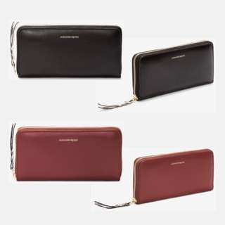 Alexander McQueen Zip-Around Continental Wallet