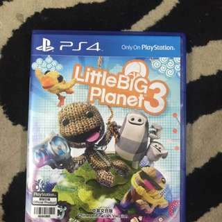 Kaset bd cd ps4 Little Big Planet 3