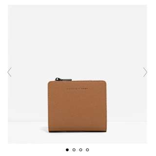 charles&keith square wallet